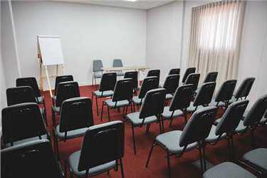 Events room - capacity 35 people in auditorium format. Design with sound.Consult values at reception.